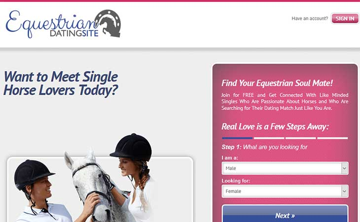 equestrian dating site